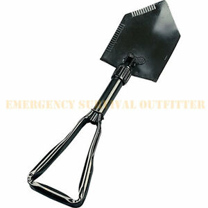 Deluxe-MILSPEC-NATO-Military-Issue-Heavy-Steel-Trifold-Entrenching-Shovel