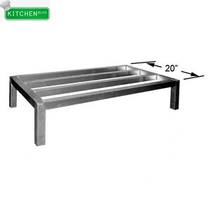 Heavy Duty All Welded Aluminum Dunnage Rack 20