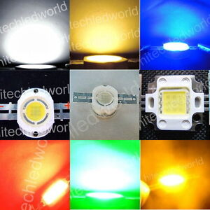 High-Power-10W-Pro-light-LED-Lights-Lamp-White-Warm-White-Red-Blue-Green-Amber