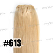 Blonde Human Hair Extensions Weft