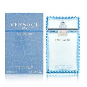 VERSACE MAN EAU FRAICHE * Cologne for Men * 6.7 oz * NEW IN BOX & SEALED