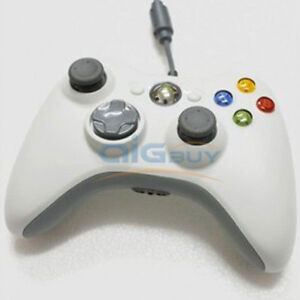 White-Usb-Wired-Controller-For-Microsoft-Xbox-360-Pc-Windows