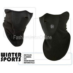 Motorcycle Cycle Ski Thermal Wamer Mask Face Neck Balaclava Outdoor Sporty