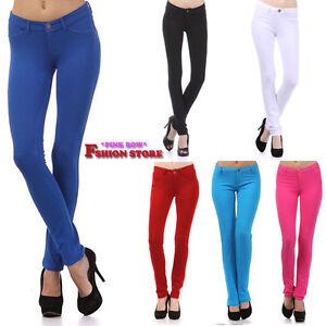 New-Fashion-Stretchable-Modelton-Soft-Color-Skinny-Pants-Jeggings-Leggings