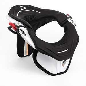 Leatt White GPX Adventure 3 III MX ATV Neck Brace Support Size Medium M (Adult)