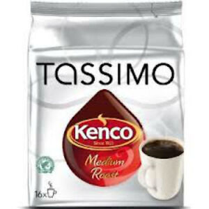 tassimo discs kenco coffee coffee making ebay. Black Bedroom Furniture Sets. Home Design Ideas