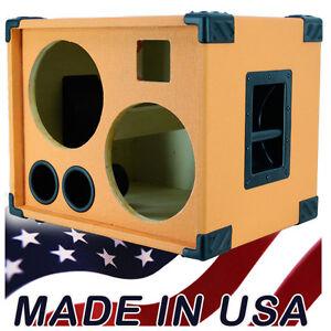 2x10 bass guitar speaker cabinet empty orange tolex bg2x10ht. Black Bedroom Furniture Sets. Home Design Ideas