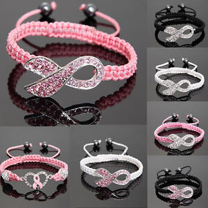 Shamballa-Crystal-Pink-Ribbon-Breast-Cancer-Awareness-Bracelet-Gift