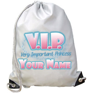 VIP-VERY-IMPORTANT-PRINCESS-PERSONALISED-GYM-SWIMMING-DANCE-BAG-NAMED-GIFT
