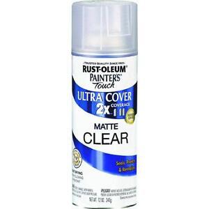 Rustoleum Matte Clear Coat Spray Paint