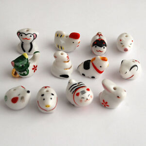 Chinese-Porcelain-Ceramic-12-zodiac-animal-beads