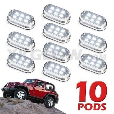 RAM JEEP FORD OFF ROAD VEHICLE ROCK LIGHT 10 MINI PODS