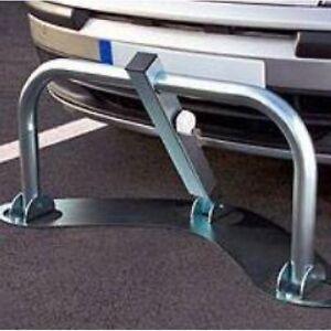 barriere de parking 3 pieds rabattable forme boomerang ebay. Black Bedroom Furniture Sets. Home Design Ideas