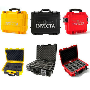Invicta-Rapid-Collector-8-Slot-Collector-Box-Yellow-Black-or-Red