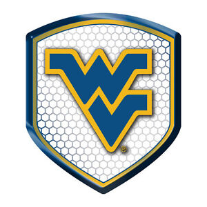 West Virginia Mountaineers NCAA Reflector Decal Shield Car ...