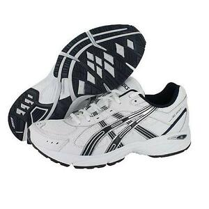 ASICS-GEL-RESORT-2-WHITE-NAVY-BBQ-SHOES-MENS-multiple-sizes-available
