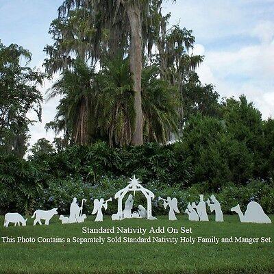 Full Christmas Outdoor Nativity Add On Set