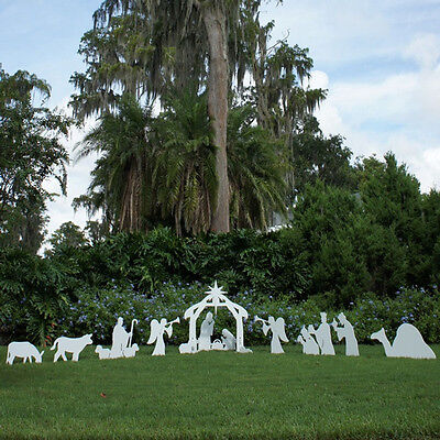 Full Christmas Outdoor Nativity Scene (includes Add Ons)