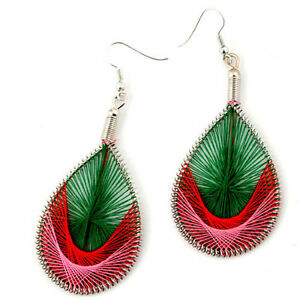 Silk Thread Earrings--NEW!