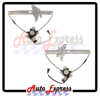 2000-05 Chevy Impala Front Window Regulator Set Pair Left And Right