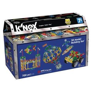 Tomy 71941 K'nex Building Toy 700 Piece 50 Multi Model Construction Kit Set New