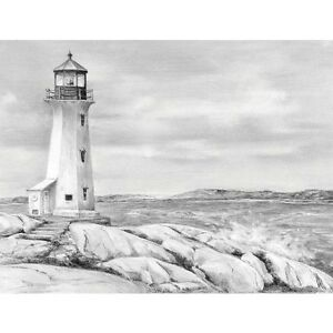 SKETCHING MADE EASY Kit  8 x 11 Sketch Set Learn LIGHTHOUSE POINT