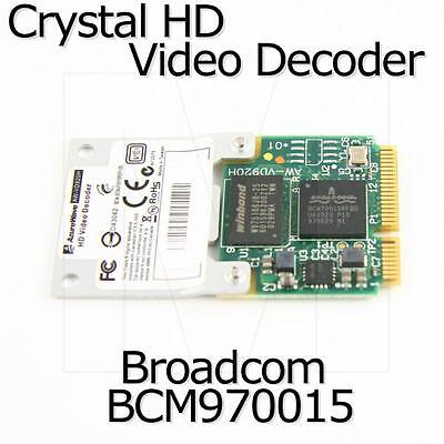 Broadcom BCM970015 Crystal HD Video Decoder Mini PCI-E Adapter, 1080p, AW-VD920H