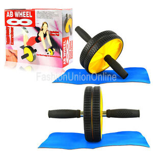 Abs-abdominal-exercise-gym-fitness-machine-wheel-body-strength-training-roller