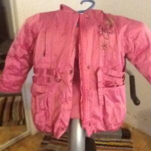 Size 3 girls winter coat