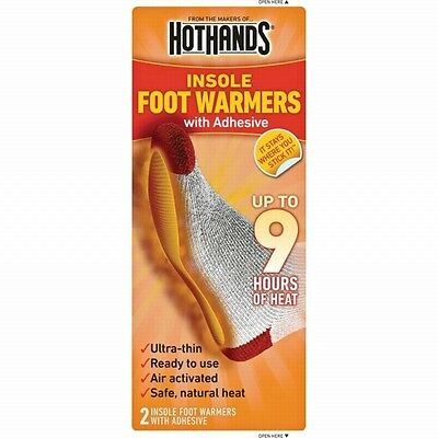 Heatmax Hothands Insole Foot Warmers W/adhesive 20-pair Heat Max Hot Hands