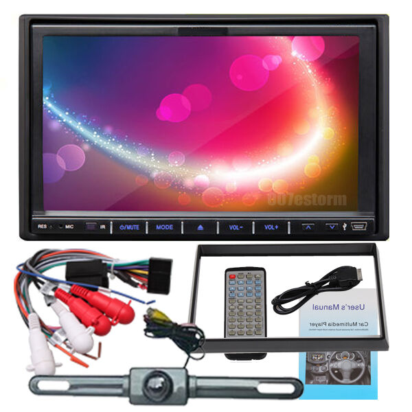 "Автомагнитола 7"" In Dash 2 Din HD S021767200001 на eBay"