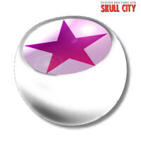 Pink Star White Piercing Ball - Screw Ball - Ball Jewelry Star Tattoo Emo - markenlos - ebay.co.uk