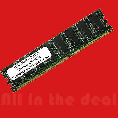 1gb Ddr Ram Pc2100 Non-ecc Dimm 184-pin 266mhz Memory