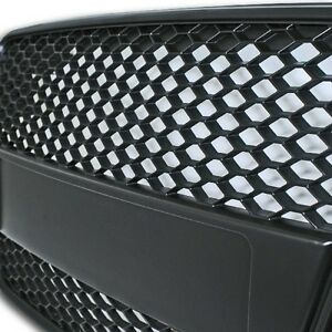 2007-2011-SUPER-RARE-AUDi-A5-8T-MESH-SPORT-Grill-Grille-RS5-Look-BLACK-BADGE