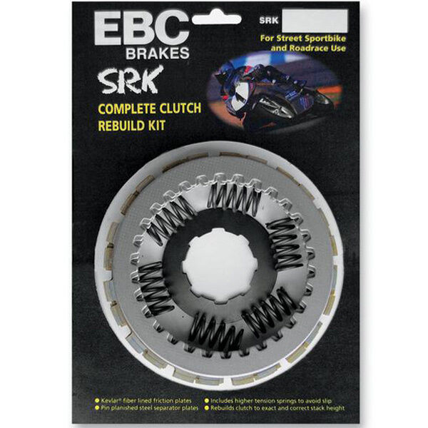 SRK022 EBC Complete Clutch Rebuild Kit - Kawasaki ZZR600 D1-D3 90-92