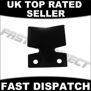 TOWING TRAILER CARAVAN TOW BAR BUMPER PROTECTOR TOWBAR BLACK METAL