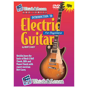 WATCH & Learn Intro TO Play ROCK & Roll BEGINNER Electric Guitar DVD Lessons NEW