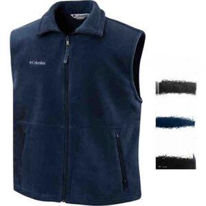 Columbia-Sports-NEW-Mens-Size-S-3XL-Quick-Dri-Full-Zip-Fleece-Vest-Jacket-Jumper