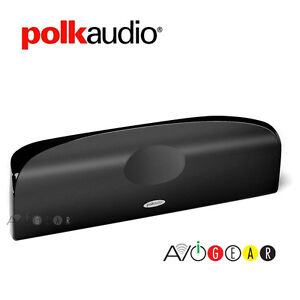 Polk-Audio-TL1-Center-black-Speaker-Center-Channel-Each-Black-Brand-New