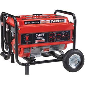 4200 WATT GASOLINE GENERATOR NOW 4200