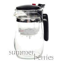Glass Teapot Infuser Strainer 750ml