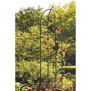 colonne tuteur de jardin en m tal pour rose plante grimpante rosier neuf 375 ebay. Black Bedroom Furniture Sets. Home Design Ideas
