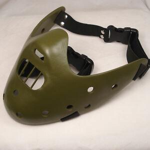 New-Green-Resin-Replica-Doctors-Deluxe-Hannibal-Mask-Prop-Halloween-With-Straps