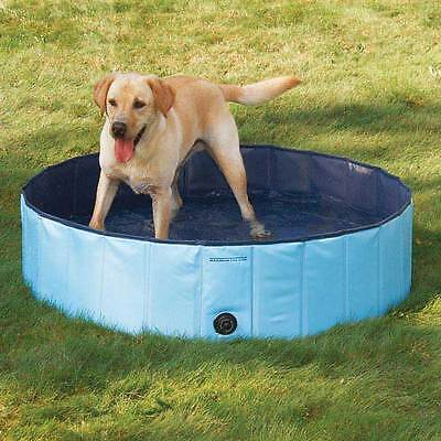 Dog Pool Extra Tough Blue Swimming Pools For Large Dogs Canine Splash Relief