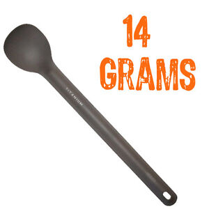 Vargo Titanium Long-handle Spoon | PERFECT for dehydrated or freeze dried food