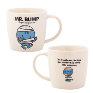 LITTLE MISS & MR MEN MR BUMP MUG CUP NEW AND GIFTED BOXED