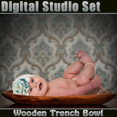 Digital Background Backdrop & Digital Prop For Green Screen Photoshop On Cd-bowl