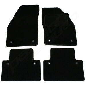Volvo V50 Tailored Car Mats 2004 Onwards - Black