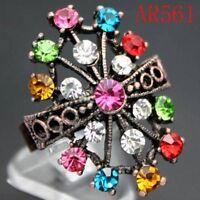 Attractive Swarovski Crystal Adjustable Ring--NEW!!!
