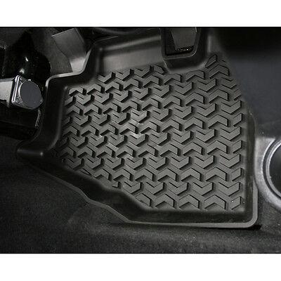 1295010 Black All Terrain Rear Floor Liner Pair Jeep Wrangler TJ 1997 2006